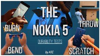 Nokia 5 Durability Test | দেশি মোবাইল অত্যাচার ভিডিও | 4K | ATC