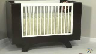 Dutailier Convertible Crib And Conversion Kit - Product Review Video