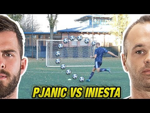PJANIC VS INIESTA - Fase A Gironi CHAMPIONS LEAGUE - Free Kick Tutorial