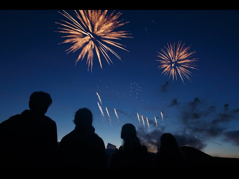 Drone Show + Firework Display Integrated with Timecode