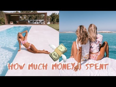 HOW MUCH MONEY I SPENT IN A DAY ON IBIZA! $