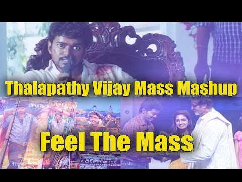 Thalapathy Vijay Mass Mashup - Vijaysm Page 25k Special- Feel The Mass Of Thalapathy