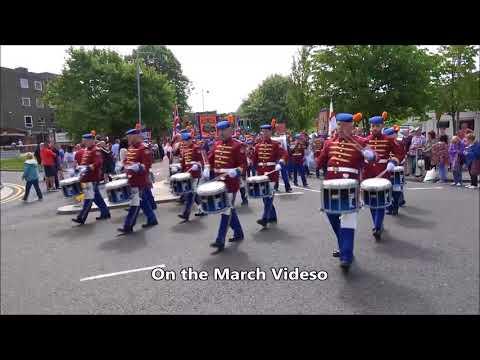Co Armagh & Co Down Juniors annual parade in  Bangor 2018