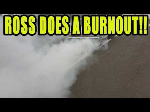 ROSS BUYS A V8 BEATER AND DOES A BURNOUT!