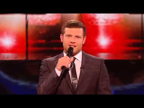 X Factor 2009, Week 1 - Joe McElderry sings 'No Regrets'