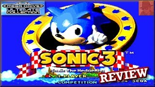 Sonic the Hedgehog 3 - Sega Mega Drive Ultimate Collection - PS3 - with Commentary !!