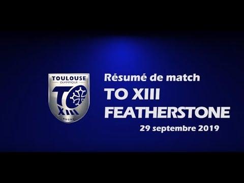 Résumé TO XIII v Featherstone - Demi-finale Championship - 29.09.2019
