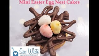 Mini Easter Egg Nest Cakes