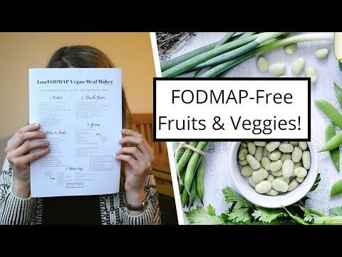 Low FODMAP Foods! Fruit & Veggies Lists ��