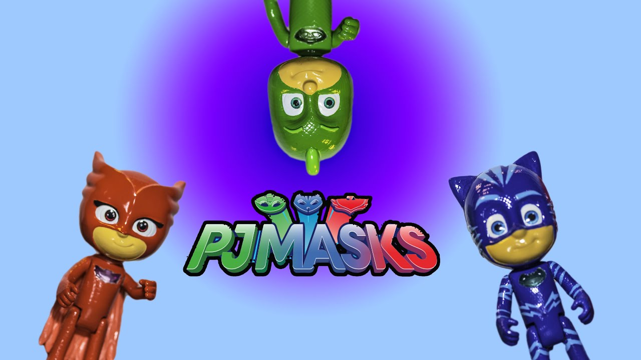 PJ Masks Catboy And Gecko And Owlette And Headquarters At The Toy Fair    YouTube