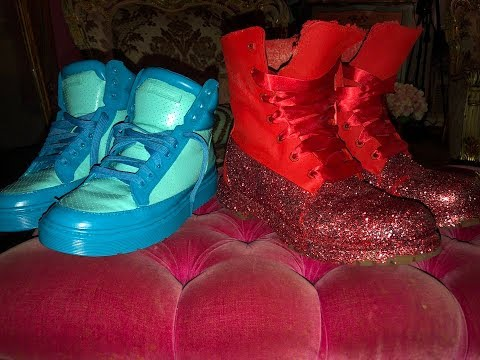 DIY How To Custom Paint Your Sneakers and Timberlands