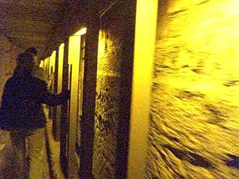 Amazing Underground tunnel exposing Jerusalem 2nd Temple