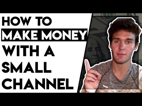 Easy Way To Make Money On Youtube With A Small Channel (Free Method)