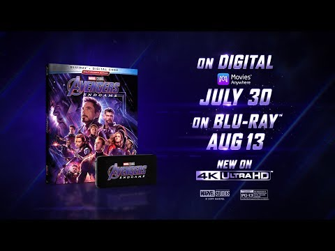 Marvel Studios' Avengers: Endgame   On Digital 7/30 & Blu-ray 8/13