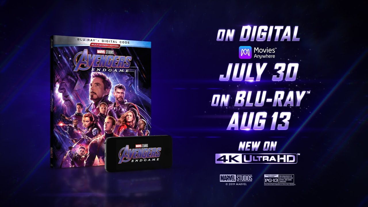 Special Additions in the Avengers: Endgame Blu-ray