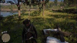 Otra vez nos encontramos al ku klux klan Red Dead Redemption 2