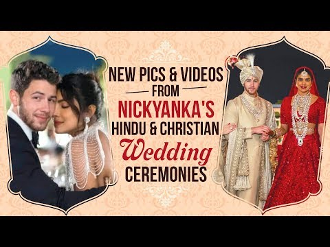 Priyanka Chopra and Nick Jonas Wedding: New pics & videos | NickYanka
