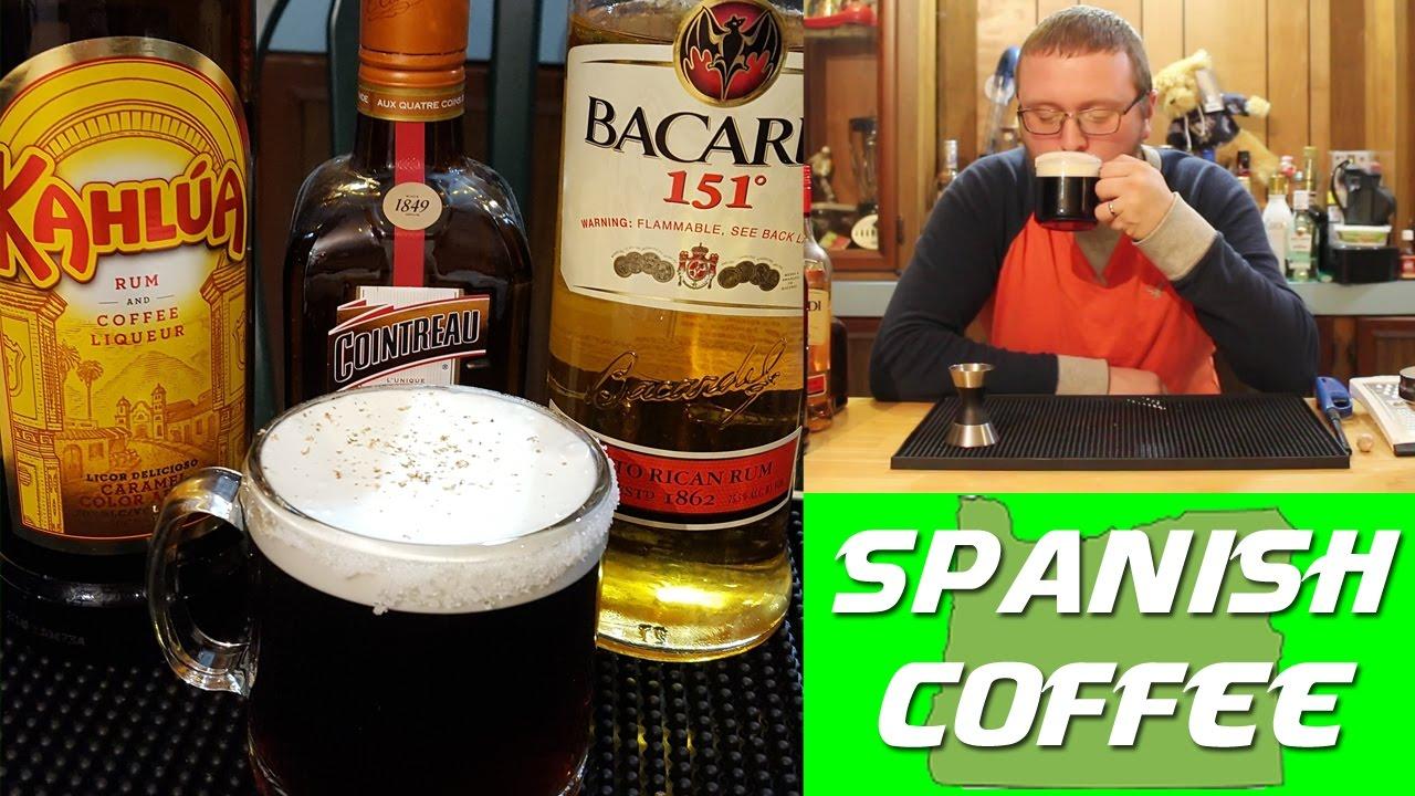 spanish coffee flaming drink recipe kahlua recipes. Black Bedroom Furniture Sets. Home Design Ideas