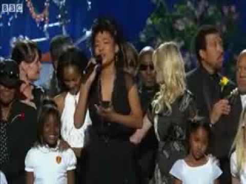 Michael Jackson Memorial Paris Prince amp Blanket Sing Live Heal The World