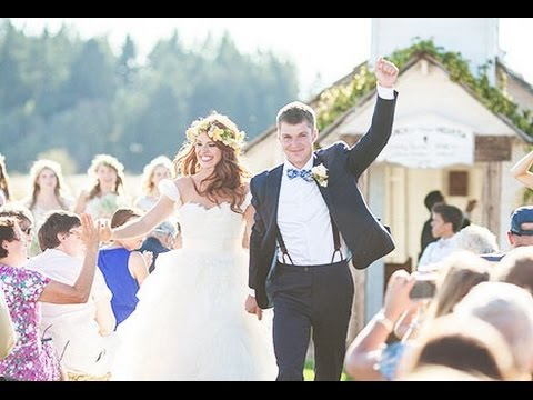 Jeremy roloff marries audrey botti in farm wedding youtube junglespirit Image collections