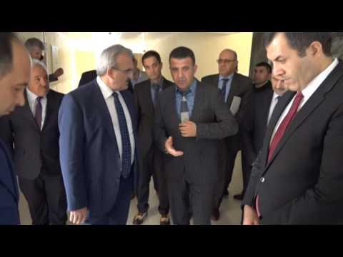 Antalya Valisi Münir Karaloğlu Finike'de okul inceleme