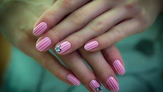 Урок дизайна ногтей - дизайн ногтей с помощью скотча