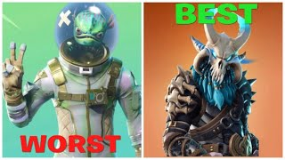 RANKING JEDE LEGENDARY SKIN IN FORTNITE VON WORST TO BEST [UPDATED]