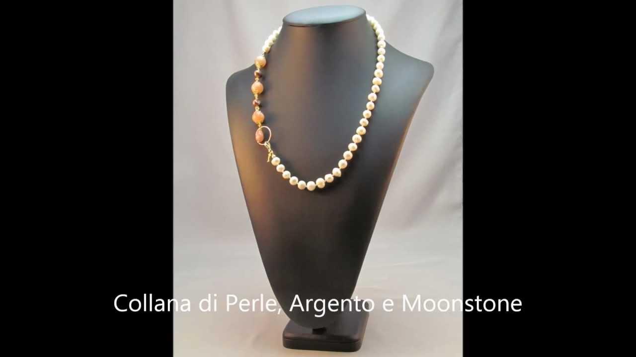 Super Collane di Perle e Pietre dure - Oggetti D'Atmosfera - Gioielli  NK84