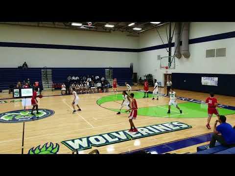Windermere JV Basketball Game 15 vs East River