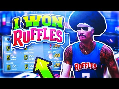 I WON RUFFLES + UNLIMITED BOOSTS IN NBA 2K19 OMG • HOW TO WIN RUFFLES 4 POINT CHALLENGE