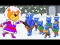 Lion Family 🔮 Game of Thrones Cartoon for Kids
