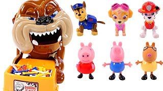 Mejores Videos Para Niños Aprendiendo Colores - Peppa Pig vs Paw Patrol Bad Dog Game Learn Colors