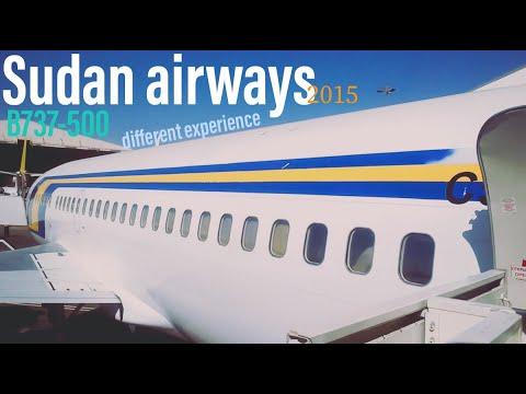 SUDAN airways B737 domestic flight سودانير