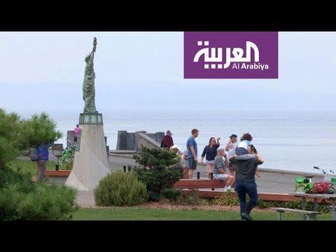 السياحة عبر العربية | تمثال الحرية يقع على شواطئ سياتل في ولاية واشنطن  - نشر قبل 4 ساعة