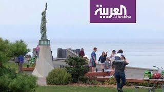 السياحة عبر العربية | تمثال الحرية يقع على شواطئ سياتل في ولاية واشنطن