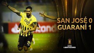 Gol de Christian Javier Báez | San José vs Guaraní [0-1] | CONMEBOL Libertadores 2020