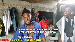 Broda Shaggi the mechanic in a new comedy