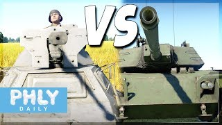 WHO WOULD WIN? A SqueezyBOI? Or a Modern MBT? (War Thunder Gameplay)