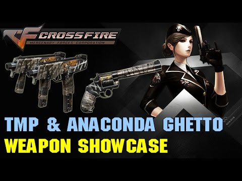 Chinese CrossFire - Steyr TMP & Anaconda Ghetto Showcase (60 FPS)