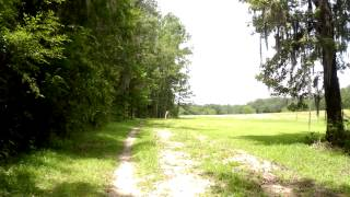 The ROCK Mountain Bike Trail, in Gainesville Florida