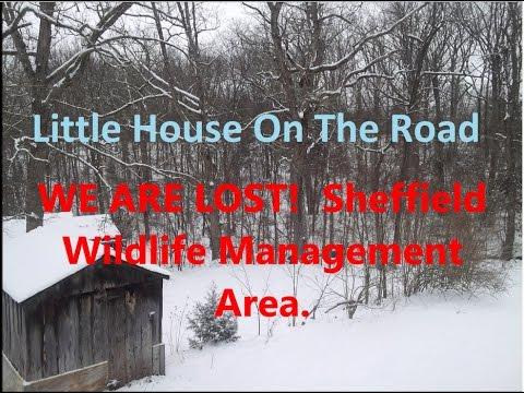 HELP!!! WE ARE LOST.  Sheffield Wildlife Management Area