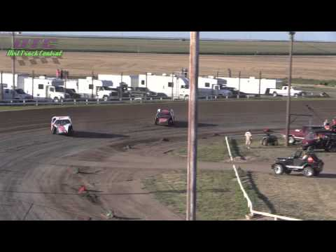 IMCA Modified Heats Wakeeney Speedway 7 27 14
