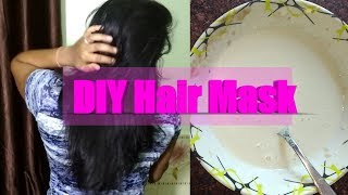 Tired of rough hair | Try DIY hair mask | Get results within 10 Minutes