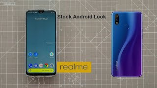 RealMe 3 Pro Stock Android Homescreen Setup | Any colorOS version users can Try