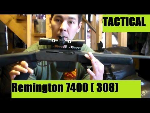 Remington model 7400 Modifications Custom Tactical