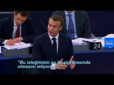 Macron: Balkan ülkelerinin yüzünü Türkiye'ye dönmesini istemiyorum