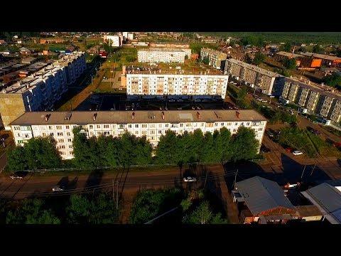 Енисейск, район 5-этажек ДРСУ #ДРСУ