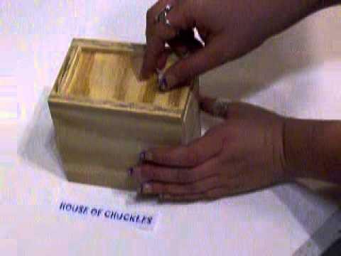 Wood Spider Surprise Box