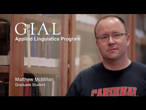 Applied Linguistics Student Story