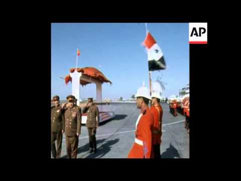 UPITN 2 12 74 CHIEF OF STAFF OF SOVIET ARMED FORCES ARRIVES TO BAGHDAD